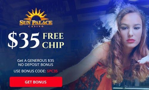 Sun Palace No Deposit Bonus