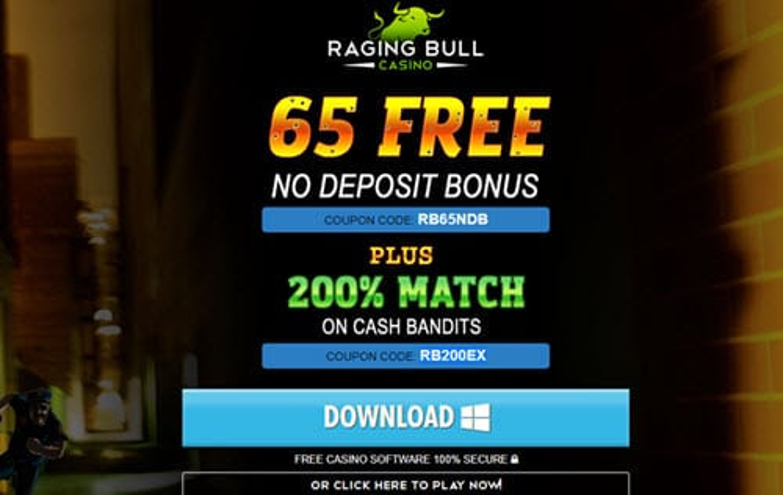 Raging bull no deposit codes 2020