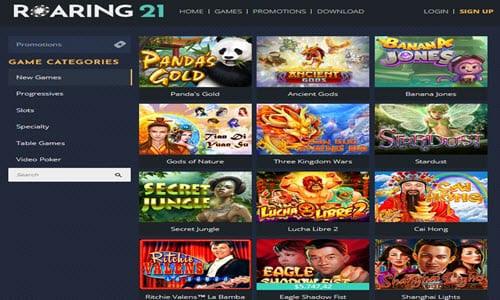 Roaring 21 Casino No Deposit Bonus Codes