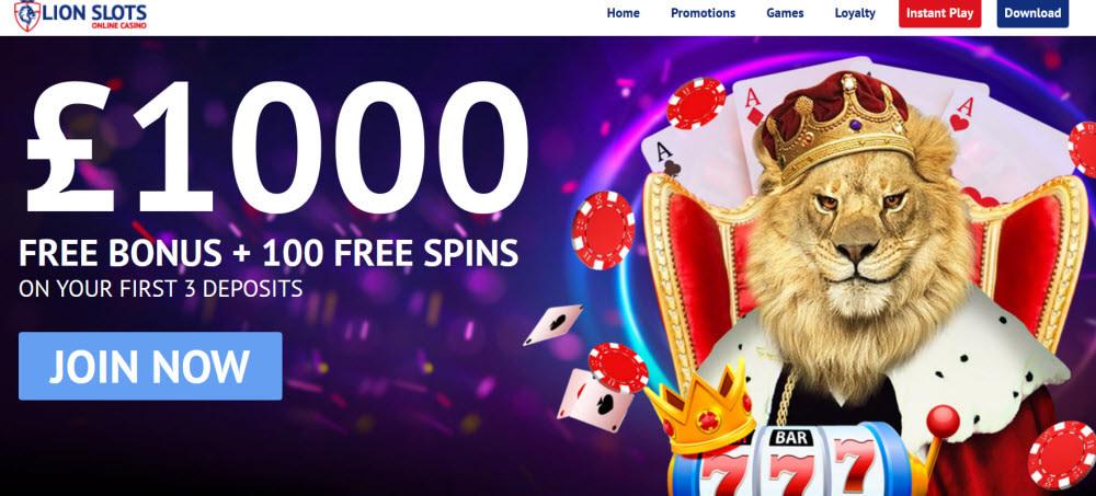 Lions Slots Casino