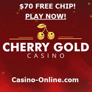 Cherry Gold Casino no deposit 70 Free Chip