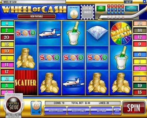 Wheel of Cash Slots