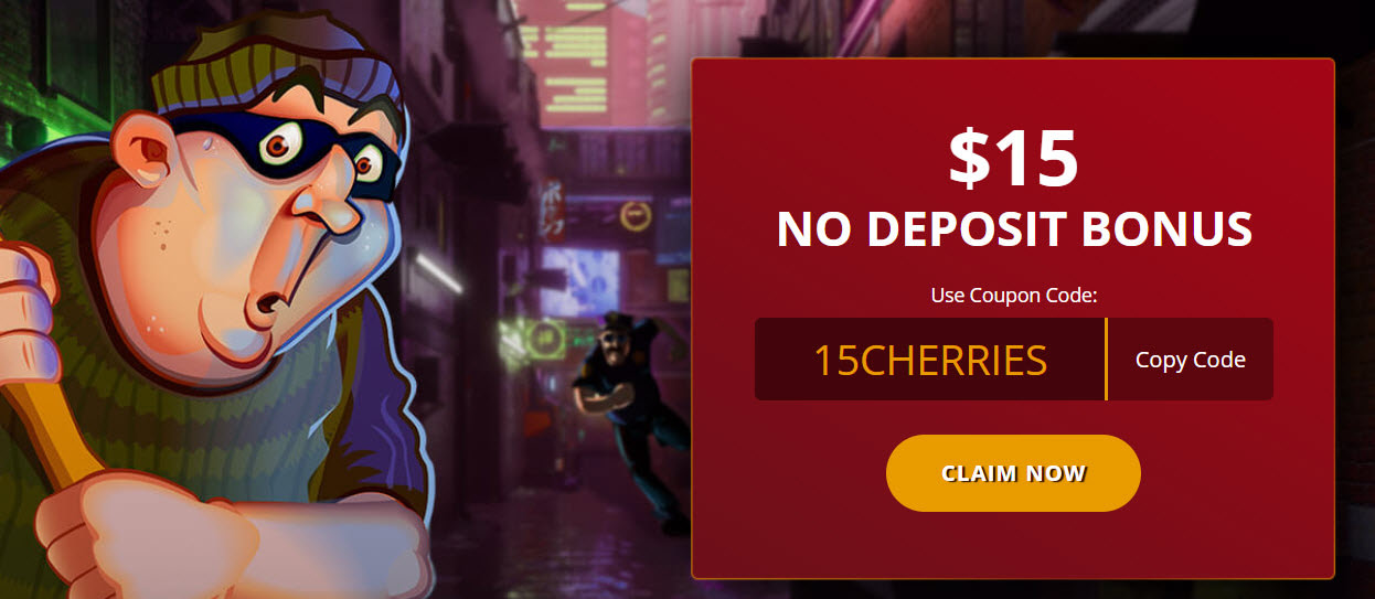 Cherry Casino No Deposit Bonus