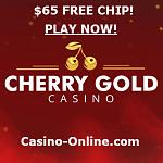 Cherry Gold Casino no deposit bonus codes