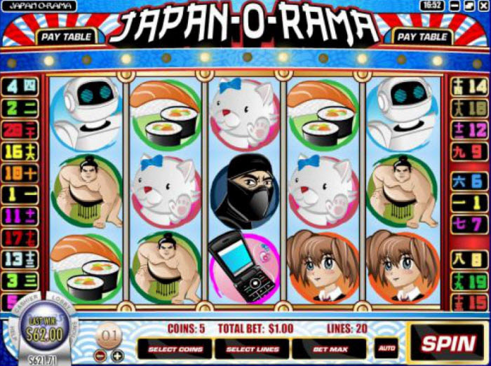 Japan O Rama Slot Game