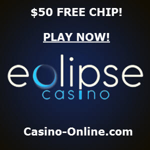 Eclipse Casino no deposit bonus codes