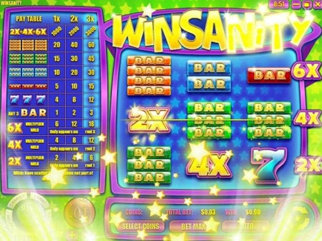 Winsanity Slot