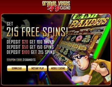 Grande Vegas 215 Free Spin