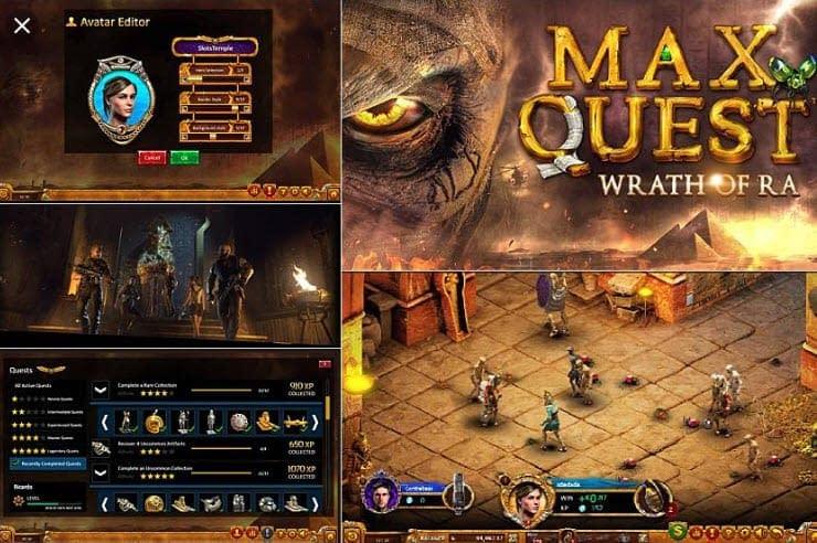 Max Quest slot