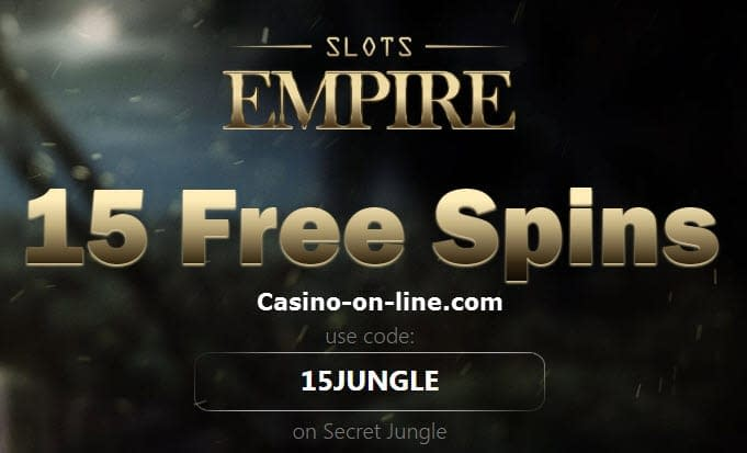 Slots Empire Casino no deposit bonus codes