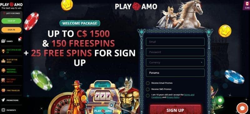 Playamo Casino Bonus Codes