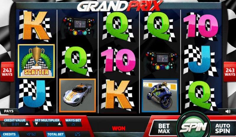 Grand Prix Slot