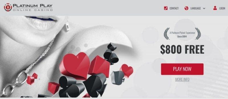 PlatinumPlay Casino Canada