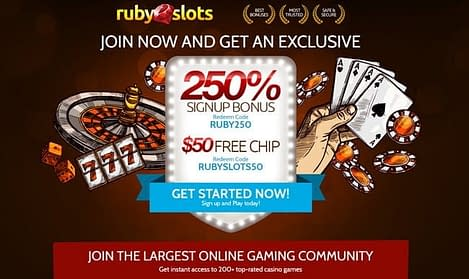 ruby slots casino review