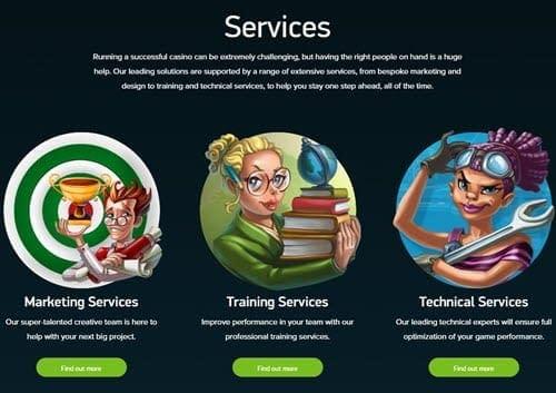 net entertainment services online casino
