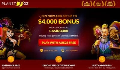 Planet 7 OZ 25 Free Chips