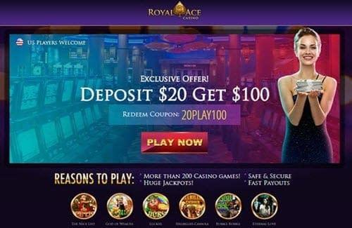 Royal Ace Casino Deposit $20