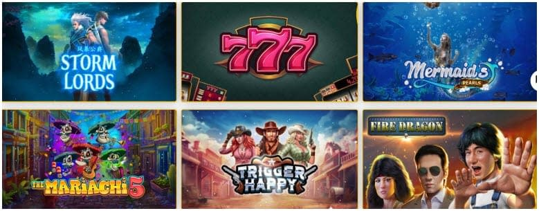 Aussie Play Casino Games