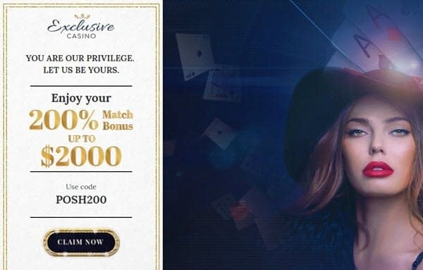 Exclusive Casino High Roller $2000