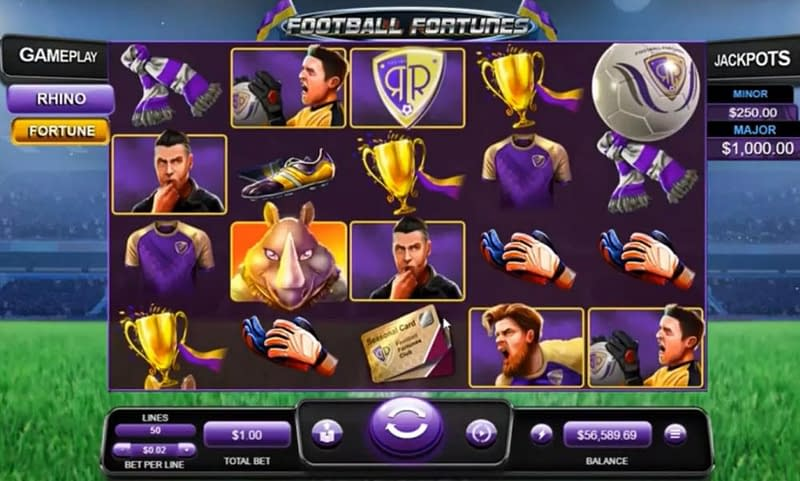 Football Fortunes Slot