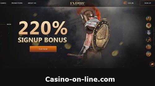 Slotsempire Casino