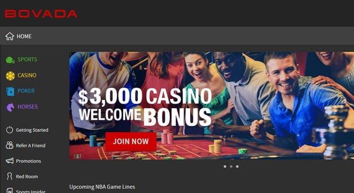 bovada bonus casino no deposit