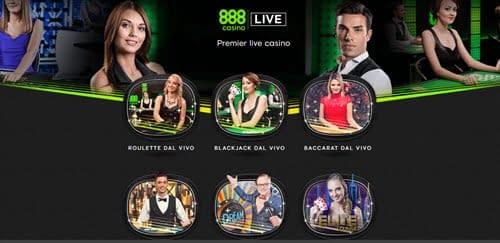 Live 888 Casino