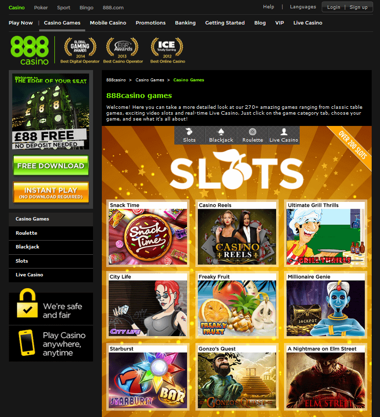 888 Casino On Line