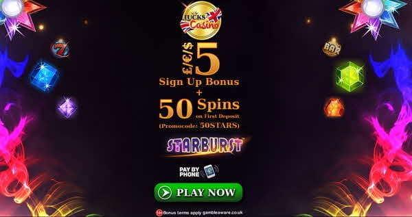 Lucks 50 free spins