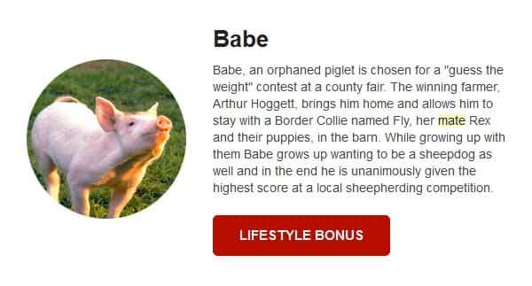 babe pig bonus march grande vegas