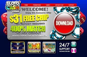 slotocash casino bonus codes