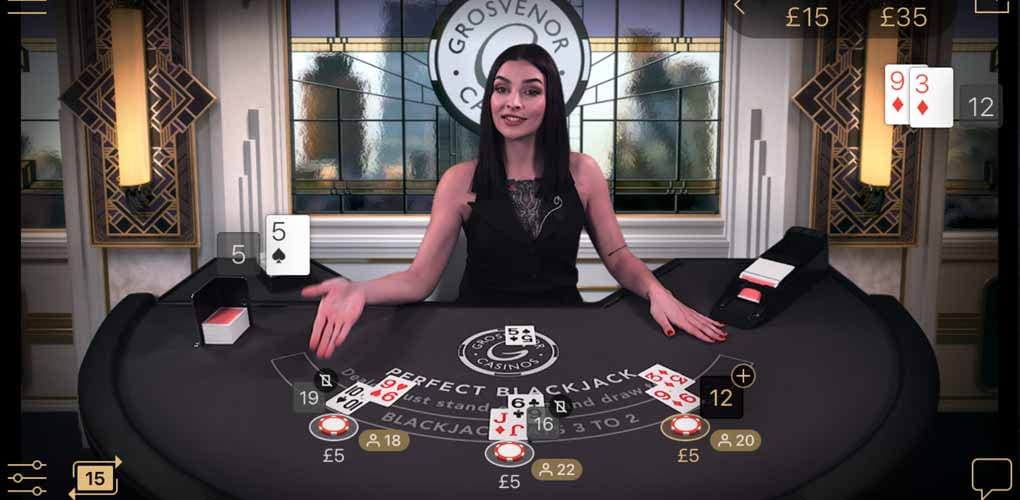 Gioco di Blackjack dal vivo