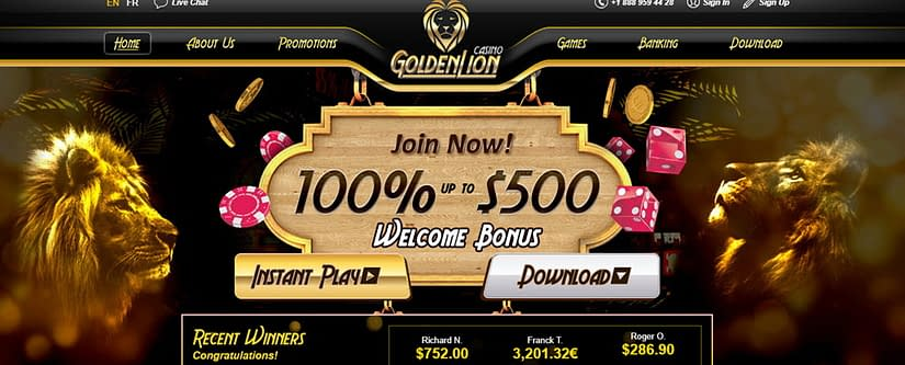 GoldenLion Casino Affiliate Program