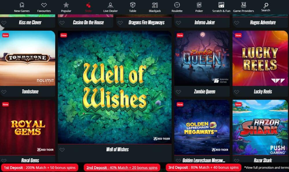 SpinRider Casino Slots