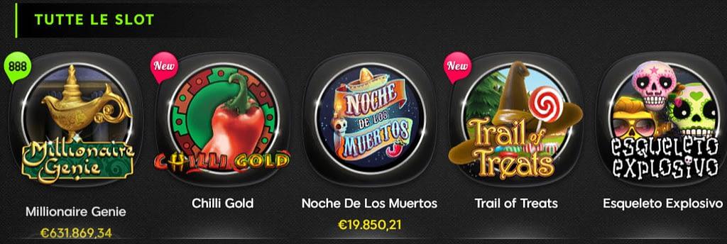 Slot online e jackpot