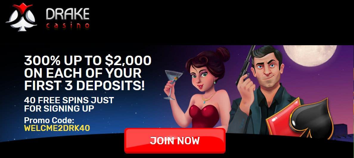 Drake casino coupon code