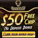 golden lion casino no deposit 50$ free play