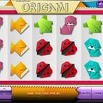 Origami slot