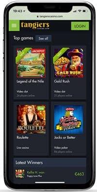 Tangiers Casino Mobile