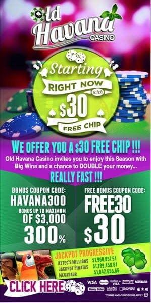 old havana casino no deposit codes