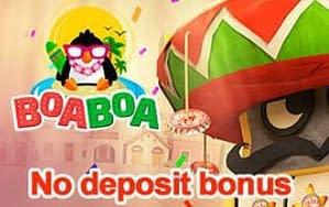 Boaboa Casino No deposit bonus