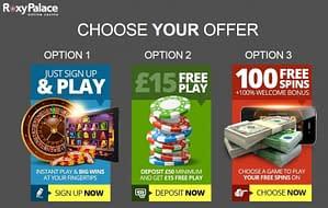 roxy palace casino bonus