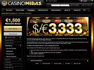 casino midas bonus