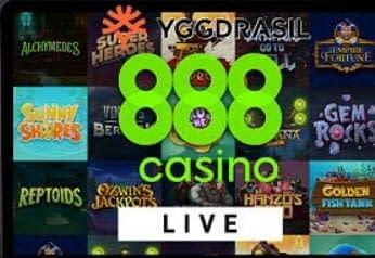 888 Casino Yggdrasil