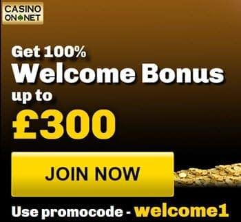 Casino On Net Bonus Codes