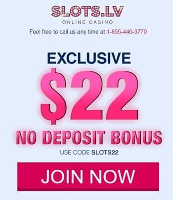 slots.lv casino bonus code