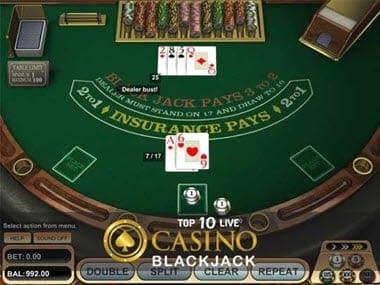 Blackjack Casino Tips