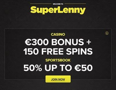 super lenny casino bonus codes
