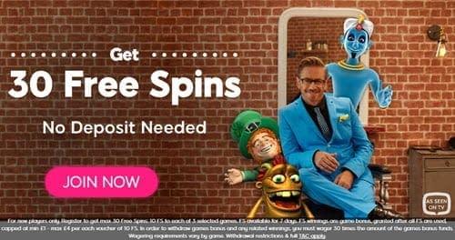 wink slot 30 free spins no deposit