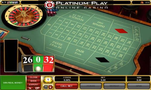 PlatinumPlay Online Roulette